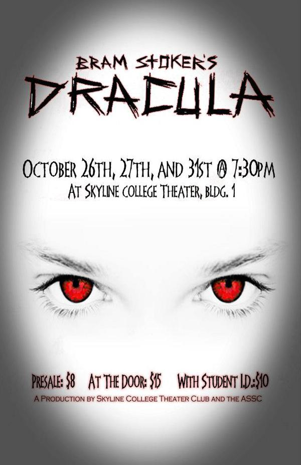 A date with Dracula at Skyline Theater on Halloween