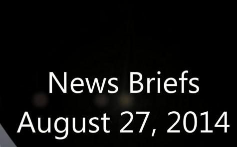 News Briefs August 27 2014