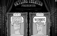 Editorial Cartoon: Skyline theater media guidelines