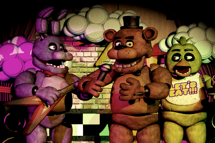 "Spend ""Five Nights at Freddy's"""