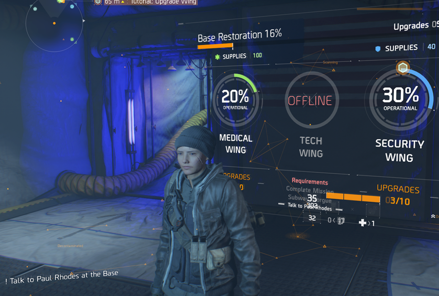"Tom Clancy's ""The Division"": clear graphics, muddy storyline"