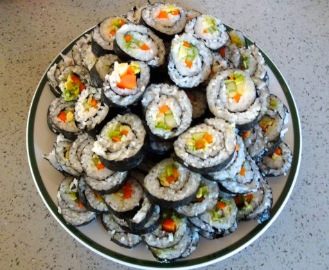 Sushi-rolling on a budget