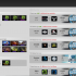 A screenshot of a listing of E-Sports games on Dota2Lounge, where people make bets on different teams.