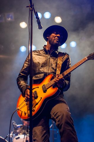 Gary Clark Jr. rocking the San Francisco music scene