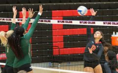 Ohlone pushes Skyline's losing streak to six with three set sweep