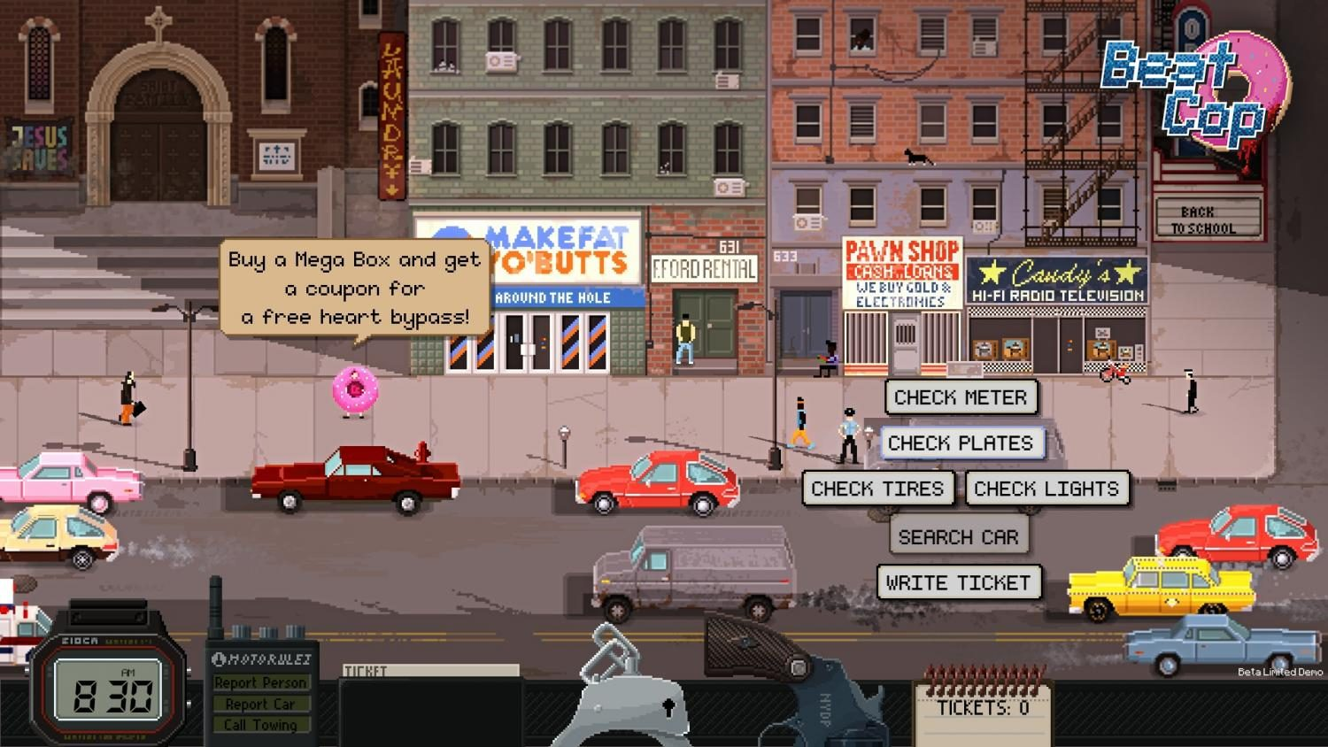 Beat Cop: an interesting 1980s point and click