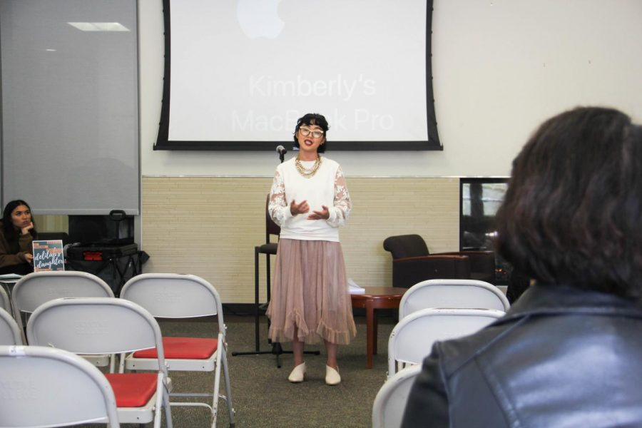 Poetry+Reading+by+Kim+Davalos+for+Poetry+Month