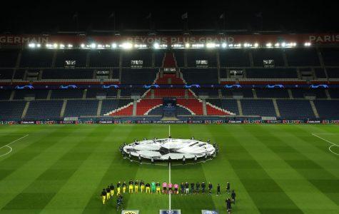 Parc de Princes, home of Paris Saint-Germain, held a UEFA Champions League game without fans on Wed. March 11