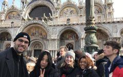 Justin Decosta, Megan Mai, Zoe Gwizdak, Michelle Diaz, and Nolan Legault watch the