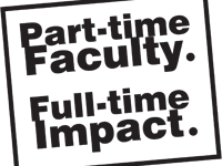 Part-Time Faculty members make an impact on a larger scale