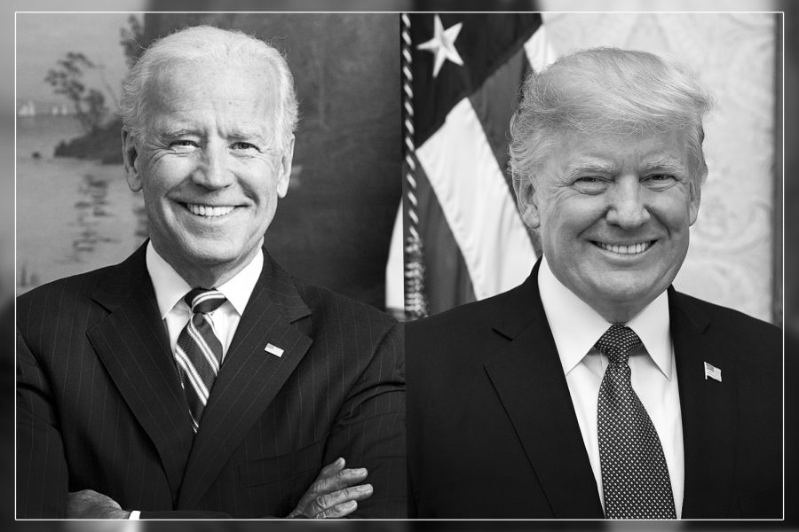 President+Donald+Trump+and+Former+Vice+President+Joe+Biden%3B+The+two+nominees+for+the+presidency.