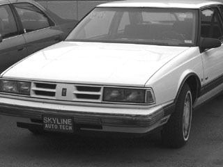 One of the donated cars of Skyline´s automotive department. (Liezl Laurel)