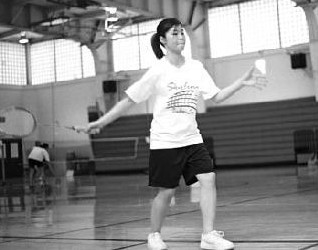Already halfway through their season, Mabel Lee (pictured) and the Skyline badminton team are looking for another title. ()
