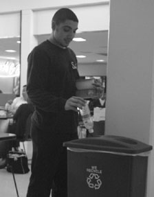 Skyline's recycling habits earn campus praise