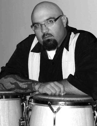 John Ulloa, history prof. and  band leader of