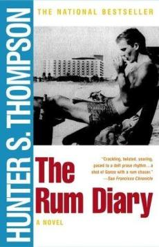 After he died, Hunter S. Thompson wished to be cremated and have his ashes fired by a cannon of his liking. (Courtesy of www.douban.net)