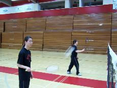 Badminton team sends players to championships ()