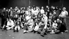 The cast of Skyline's 2006 FOB Show poses after their breathtaking performance. (Courtesy of Liza Erpolo and Jeremy Lassen)