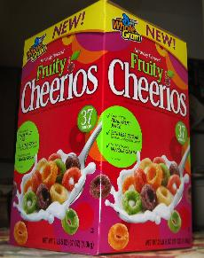 Fruity Cheerios is the newest flavor to come down the General Mills pike for Cheerios since Frosted Cheerios. ()