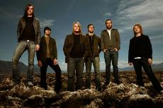 The members of Underoath, the second band to play that night at the Concourse. (courtesy of zambooie.com)