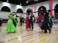 Skyline to attend ballroom dancing competition