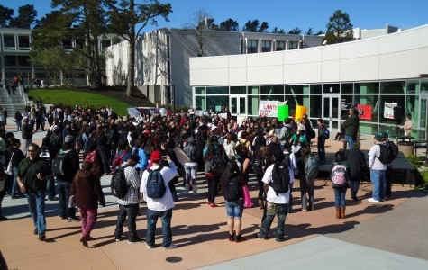 Walkout rouses campus community