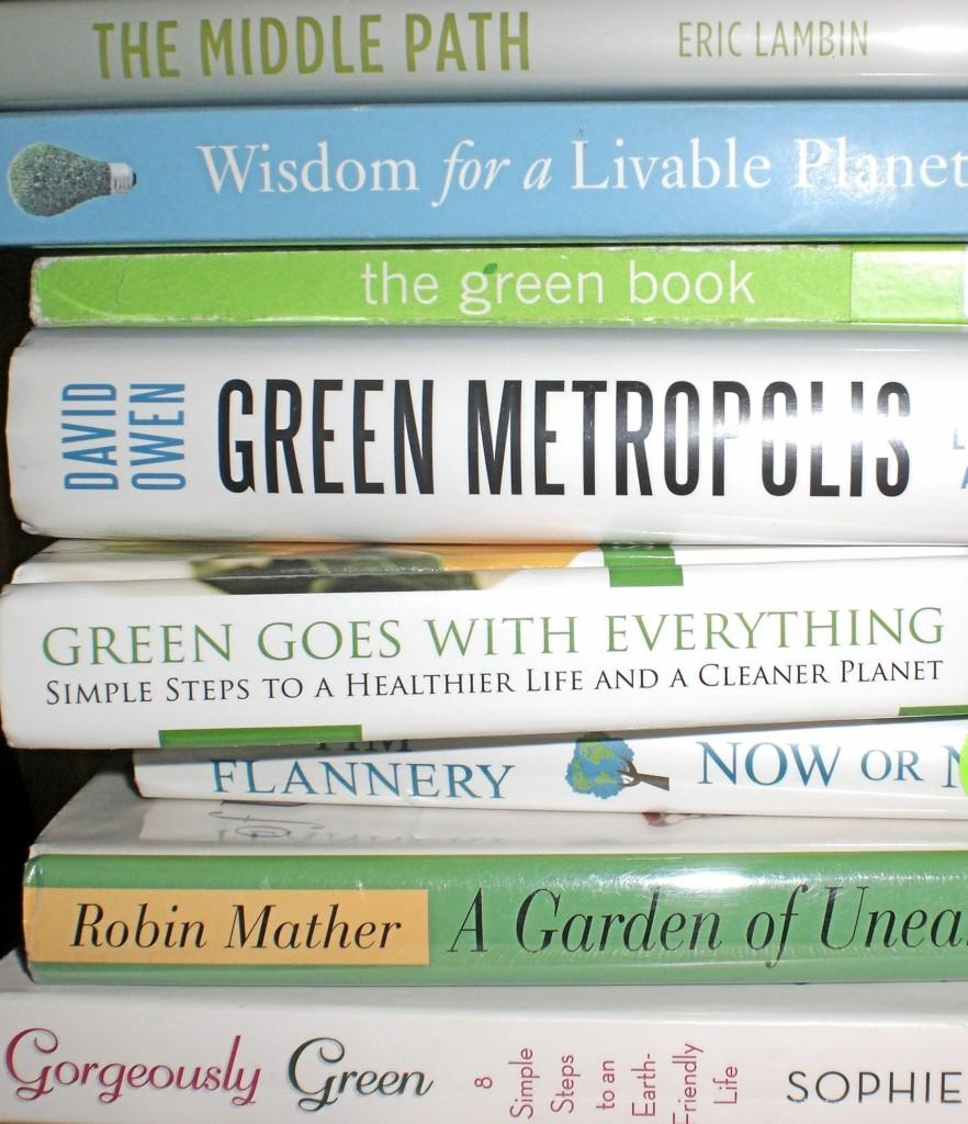 A+collection+of+books+appropriate+for+Earth+Day+%28Antoinette+Estigoy%29