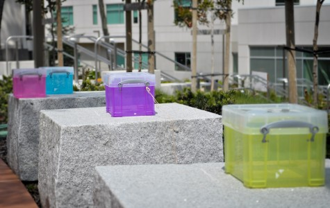 These are what the suggestion boxes around campus. (Larry Crystal)