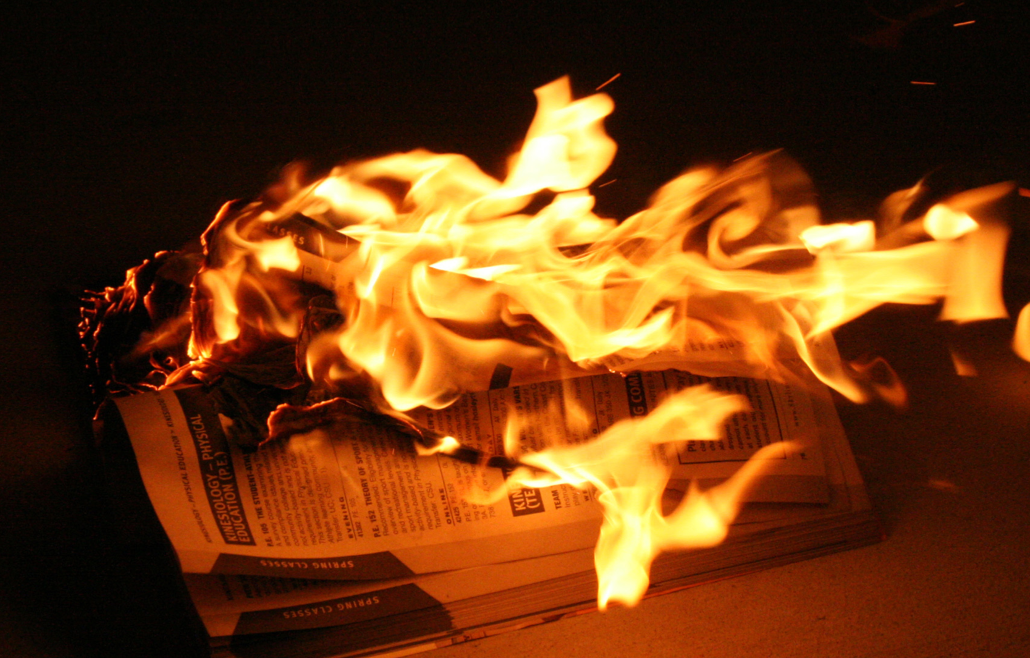 The conventional registration policies have gone up in flames (William Nacouzi)