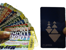 The year of the Clipper card has arrived