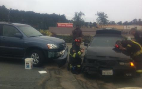 Car crash marks Skyline's first in 2012