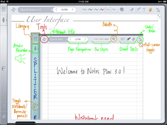 There's an App for That! – Notes Plus helps with the tedious task of taking notes