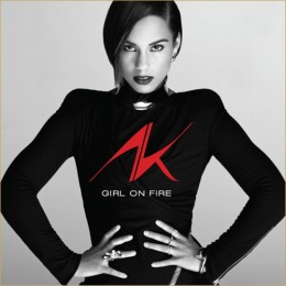 "Alicia Keys back with a vengeance with ""Girl On Fire"""