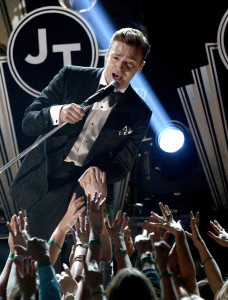 Justin Timberlake steals show at 55th Annual Grammy Awards