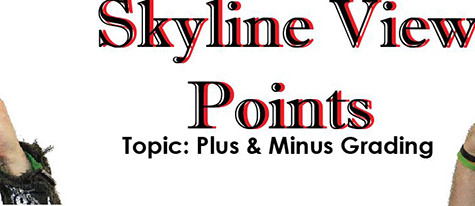 Skyline View Point – Plus/minus grading