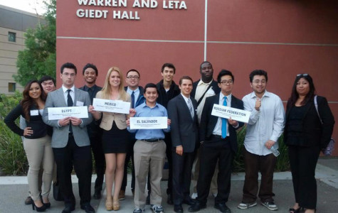 Picture of the Skyline Delegation at DCCMUN.