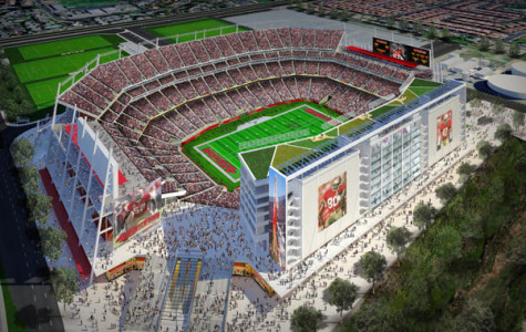 Levi's Stadium: The (future) home of your San Francisco 49ers.  Photo courtesy of blog.archpaper.com