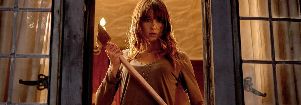 Erin (Sharni Vinson) fights to survive the attack on the house.