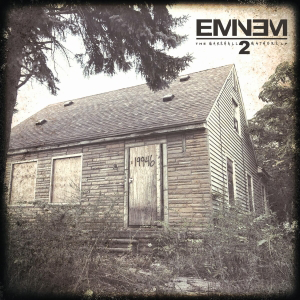 Album cover for Marshall Mathers LP 2