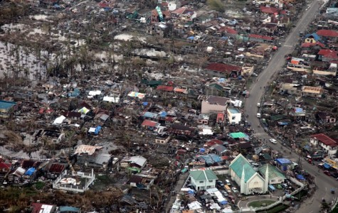 Typhoon Haiyan leaves the Philippines in destruction.