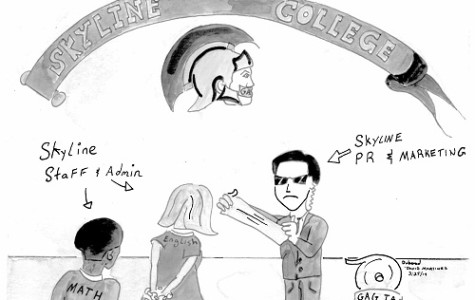Editorial Cartoon – Skyline College media policy