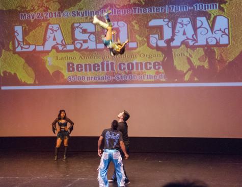 Latin concert benefits students
