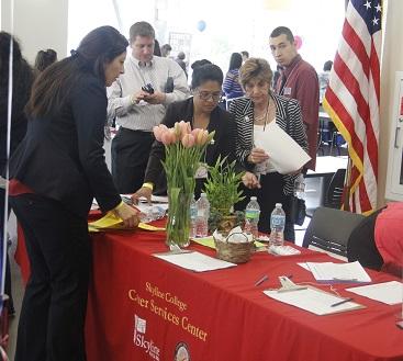 Job fair held on campus