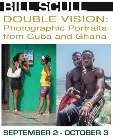 Coming up... Double Vision: photographic portraits from Cuba & Ghana