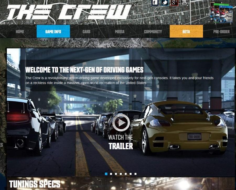 Screenshot+of+the+%22The+Crew%22+website.+