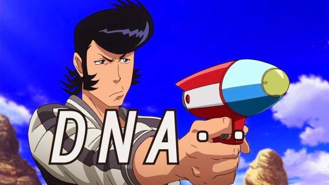 space dandy a dandy review the skyline view