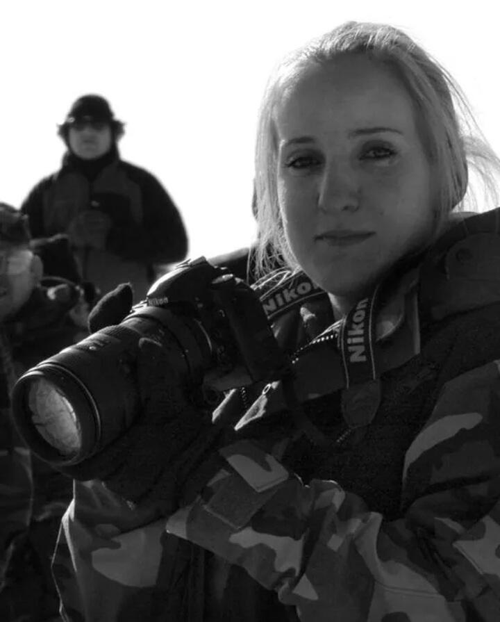 Sanya+Crocker+on+duty+in+the+U.S+Air+Force.++