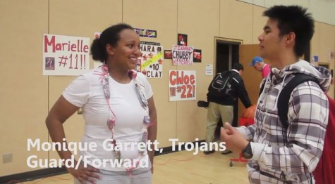 Feb. 11 interviews with the women's basketball team