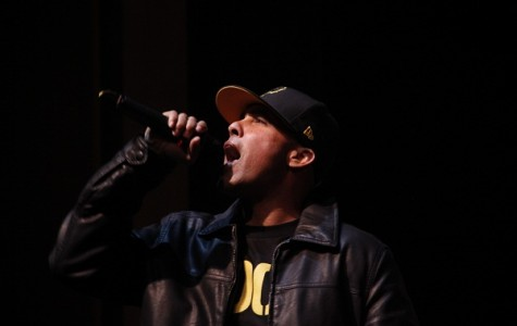 Jasiri X performing at the annual