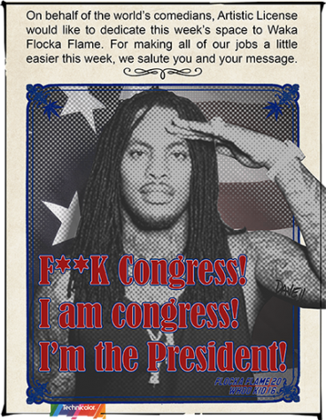 Artistic License: Waka Flocka Flame for President